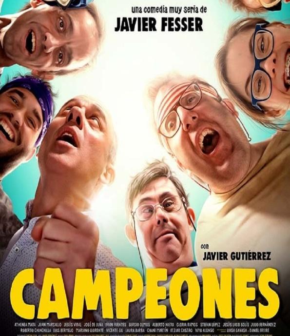 Affiche du film Campeones